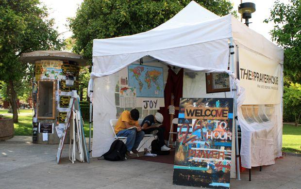 Prayer Tent ASU