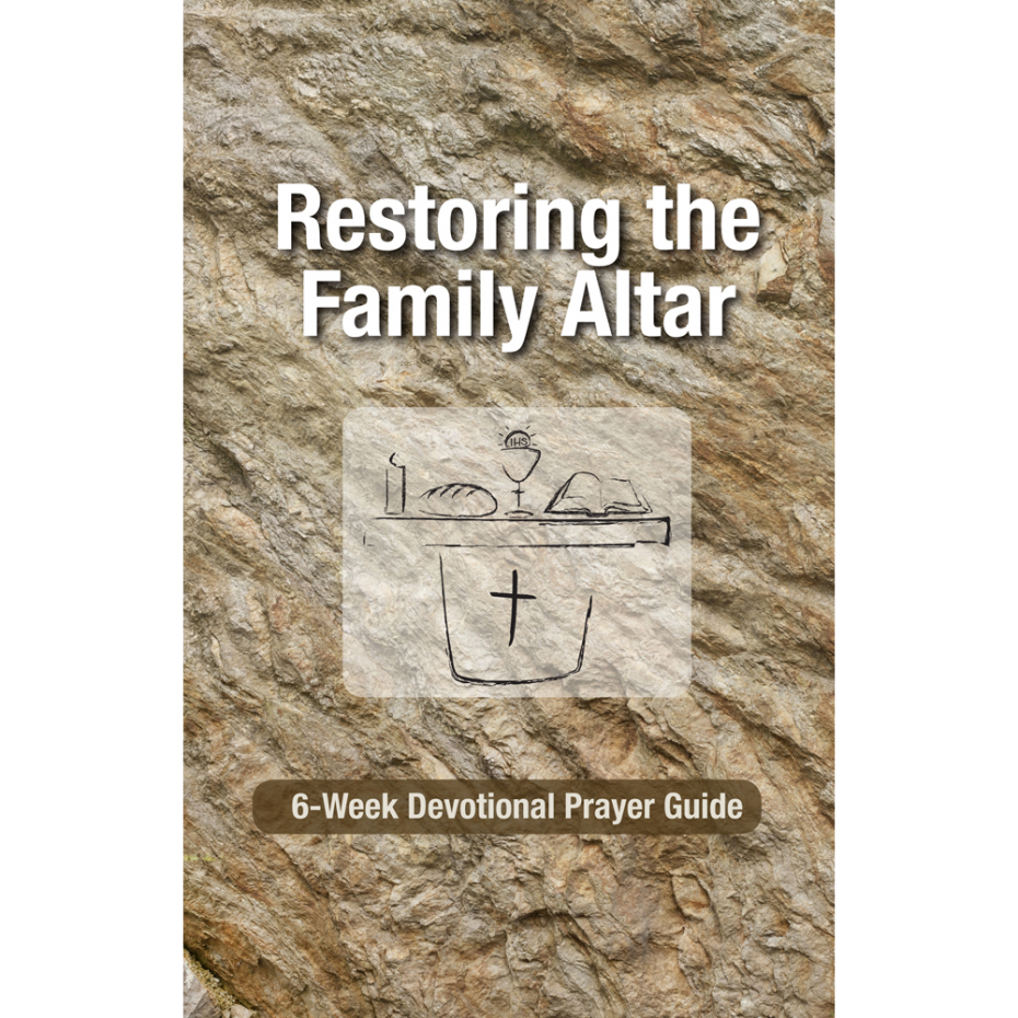 Restoring the Family Altar – Front Cover
